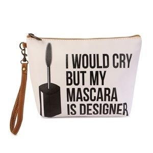 Handbags - I Would Cry But...  Cosmetic Bag